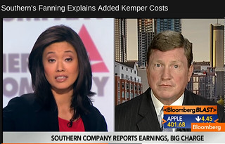 Betty Liu of Bloomberg quizzes Thomas A. Fanning of Southern Company