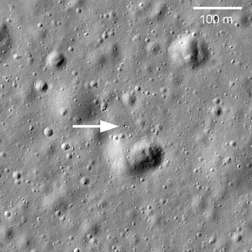 Lunokhod 1 ripreso dalla sonda LRO