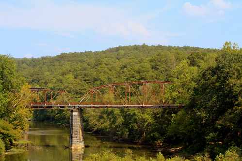 Old US31 Bridge at Garden City, AL