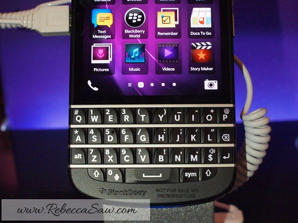 Blackberry Q10 Launch in Malaysia – RM2388  Specs