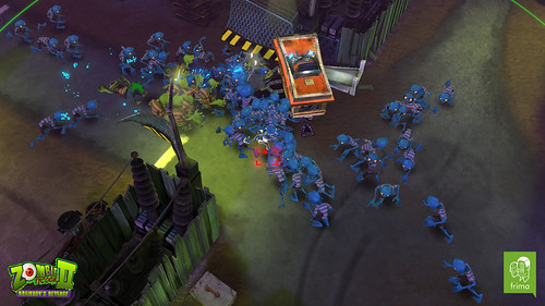 Blue Rush - Zombie Tycoon 2