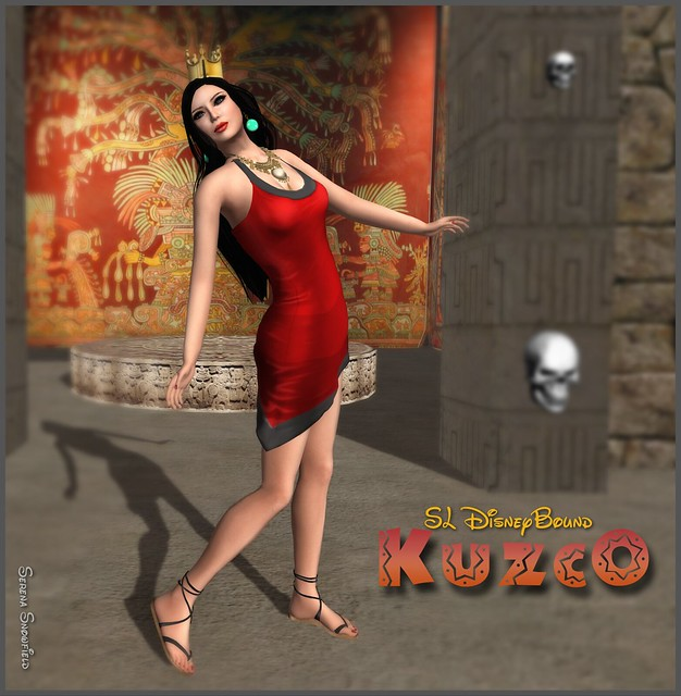 SL DisneyBound - Kuzco