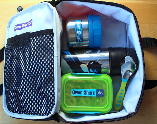 Owen's lunch box - an autism awareness lunch