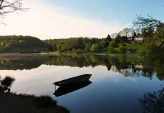 Lac de Mervent, au petit matin