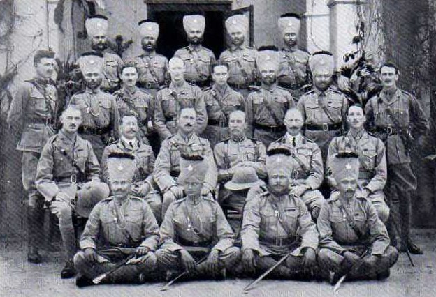 Officers of 7th DCO Rajputs in 1911