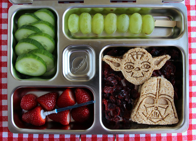 Preschool Yoda and Darth Bento #438