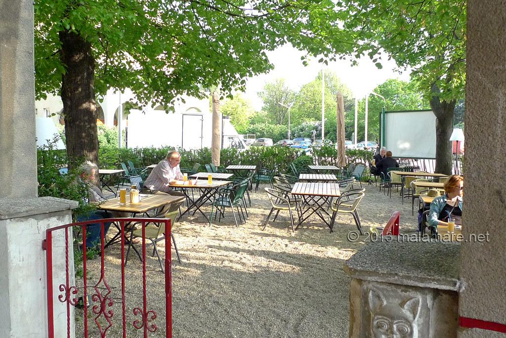 Vienna Wirtshaus Am Wasserpark garden