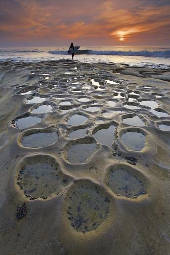 ocean california ca sunset sky usa landscape photography la surf pacific sandiego surfer lajolla surfboard jolla potholes cloulds thepotholes ernogy