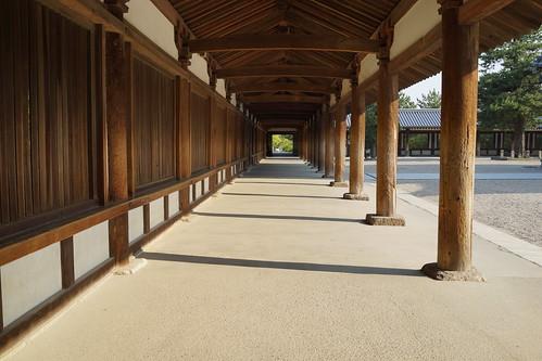 法隆寺・回廊