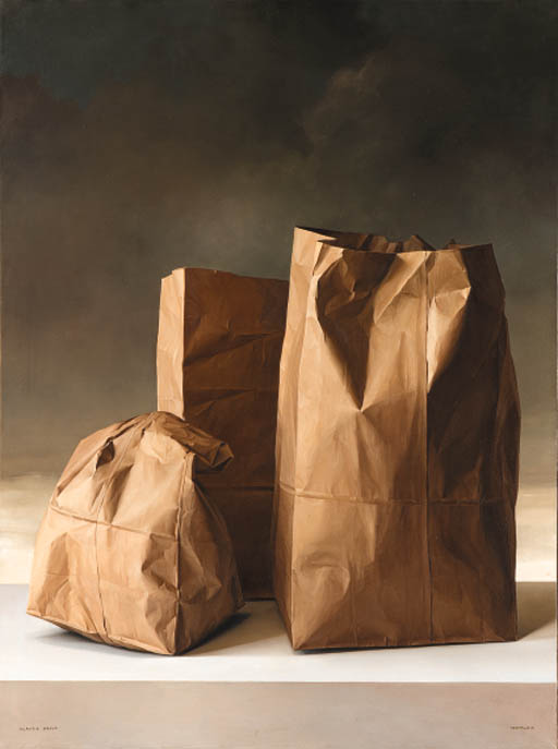 Bravo, Claudio (1936-2011) - 1970 Paper Bags (Christie's New York, 2000)