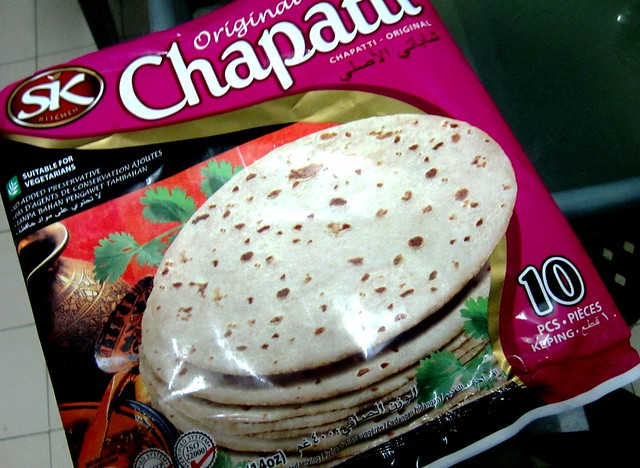 Frozen chapati