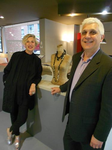 Poltrona Frau hosts Italian Designer Giuliana Michelotti