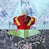 Disney Mystery Quilt, Block 3, The Crown