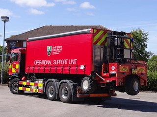 South Yorkshire Fire & Rescue Service MAN TG-M Operational Support Unit