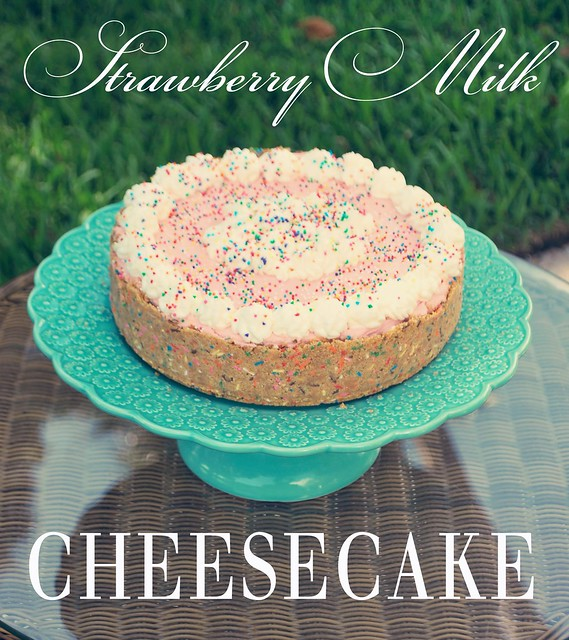 Strawberry Milk Cheesecake
