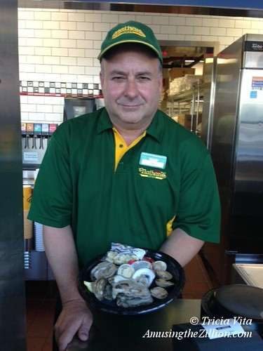 Joey Clams, New Chief Clam Shucker at Nathan's Famous