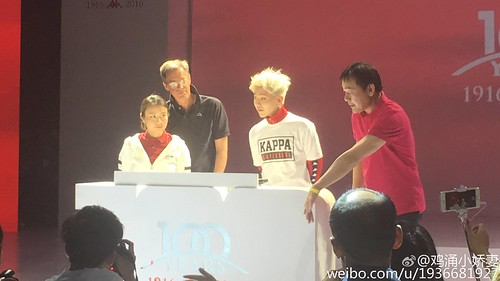G-Dragon - Kappa 100th Anniversary Event - 26apr2016 - 1936681927 - 15