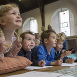 Early Years children enjoying Tim Warnes' event | © Phil Wilkinson