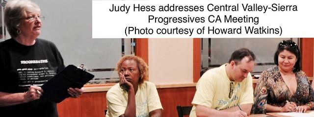Judy speaking