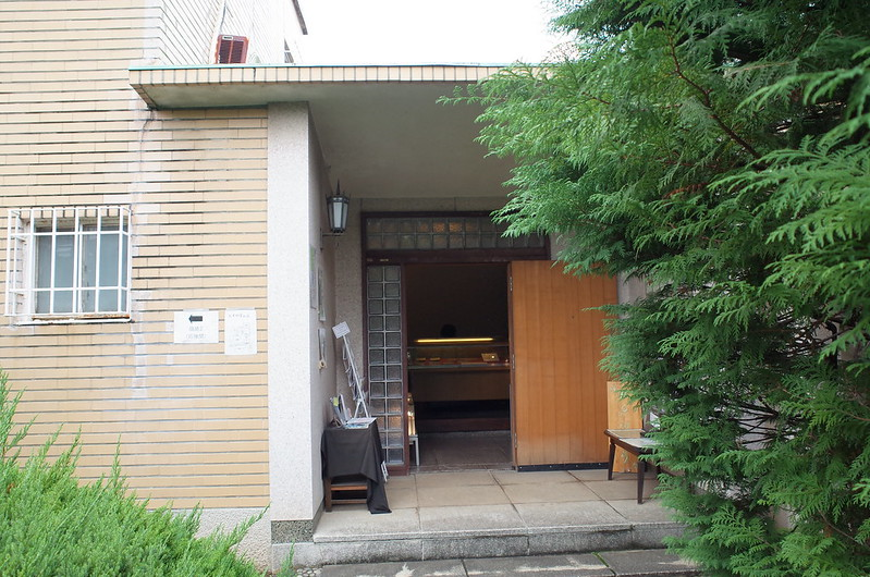 旧江戸川乱歩邸洋館受付入口