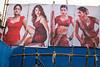 Dance show ads - Sonepur Mela, India