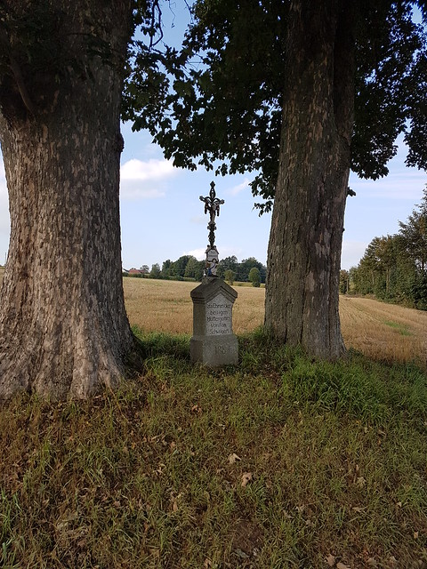 Materl bei Ödwaldhausen. Field Cross at Ödwaldhausen.