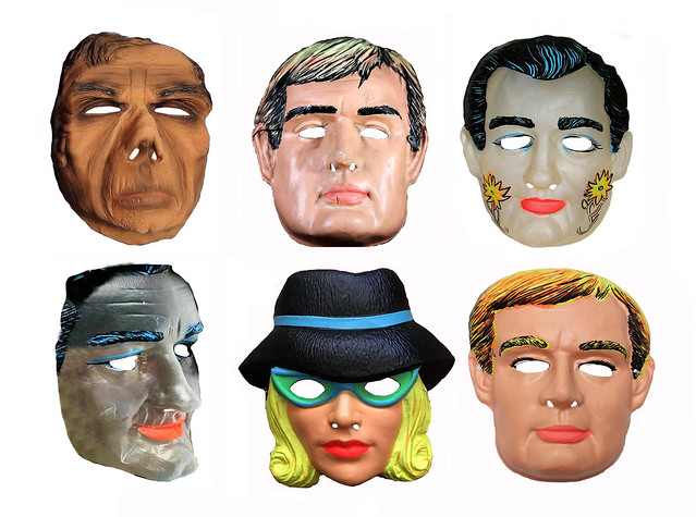 The Man From UNCLE - TV Halloween Masks 1001