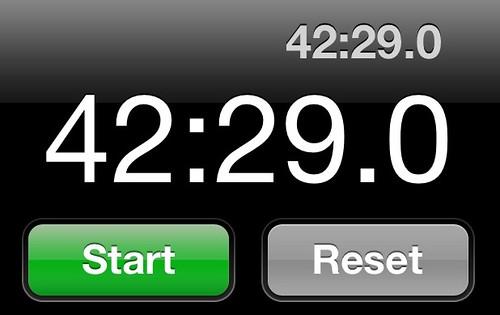 Under 45 minutes