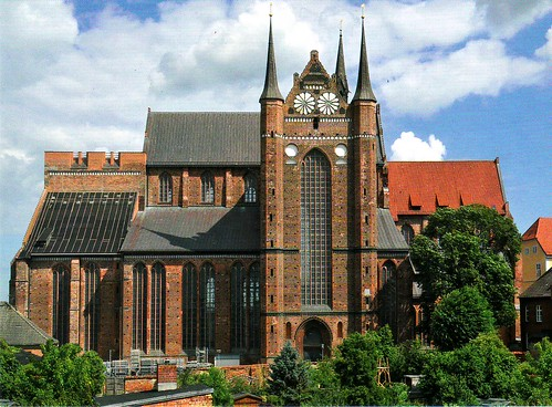 UNESCO Wismar Georgenkirche I - Historic Centres of Stralsund and Wismar (5 cards)