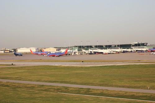 Houston Hobby Plane Spotting