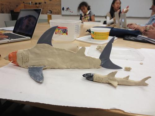 Sharktopus and baby sharktopus