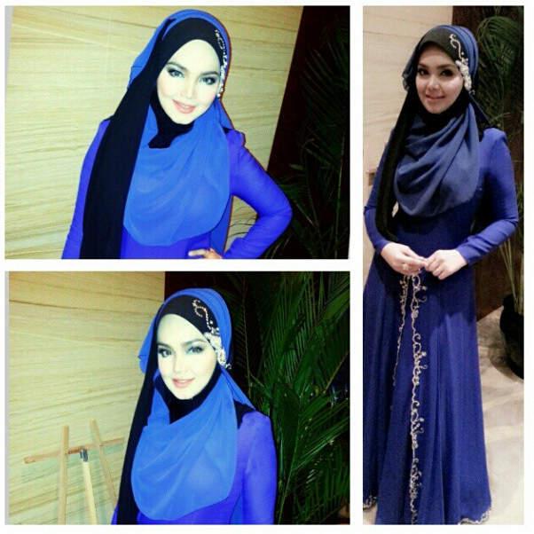 Gambar Siti Nurhaliza di Malam Amal Tahajjud Cinta