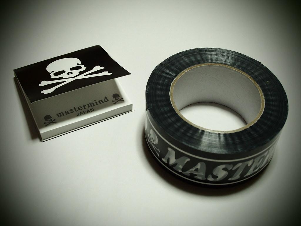mastermind JAPAN | Post-it , Vinyl Tape
