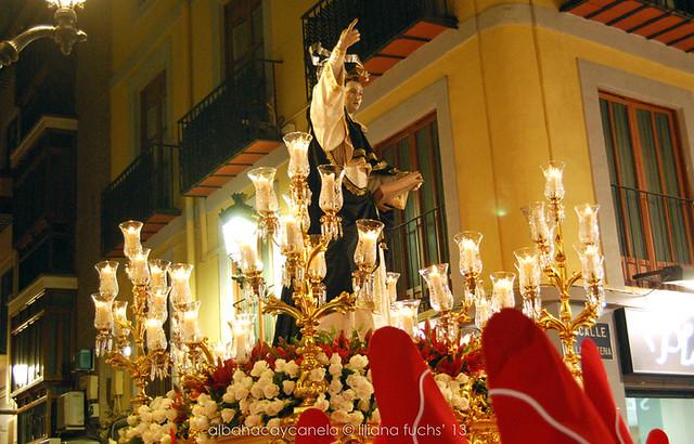 Procesión de Semana Santa en Murcia