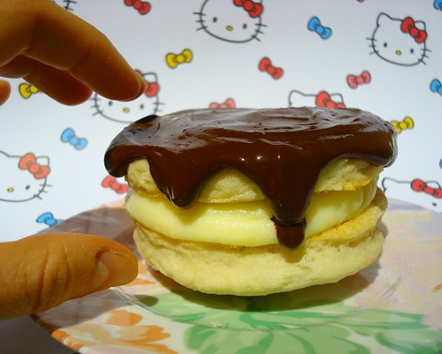 Boston Cream Shortcake