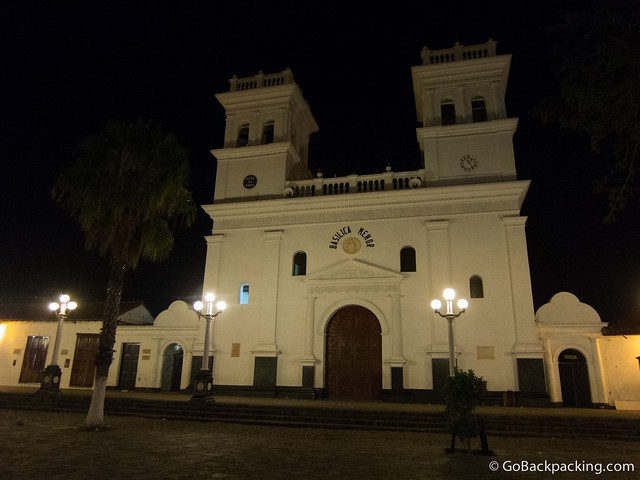 Catedral del Senor de Los Milagros in the pueblo's main plaza