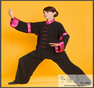 Long Sleeve Cotton Silk Kung Fu Uniform/Tai Chi Clothing/Meditation Suit