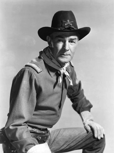 Randolph Scott - in the 40s and 50s he moved from comedy and drama to westerns.
