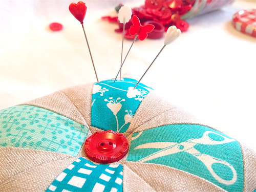 Patchwork, Please! Prettified Pincushion