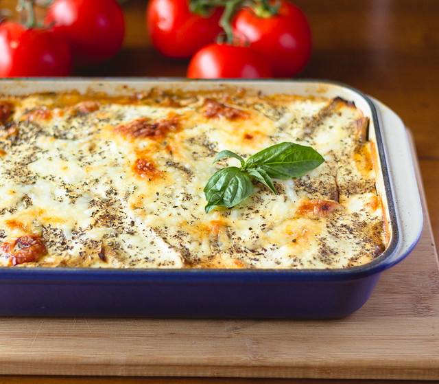 Rustic Greek Moussaka - It will convert anyone into an eggplant lover. Vegetarian option too!
