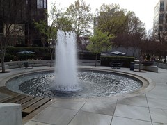 Charlotte NC Fountain