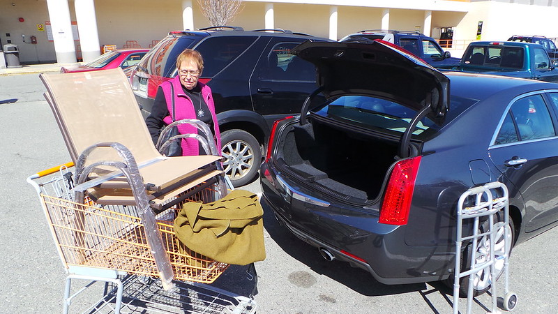 Chair Shopping With Mom: Will it Fit in the Trunk?