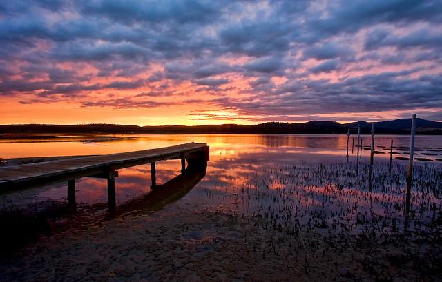 Merimbula Summer Sunset
