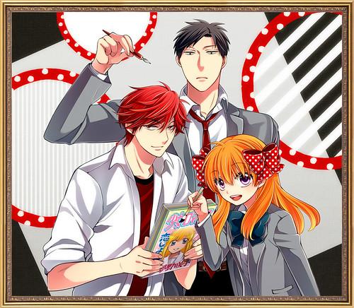 130425(3) - 第32回、漫畫家「椿泉」搞笑校園作品《月刊少女野崎くん》連載更新:『乙女遊戲』進行曲!