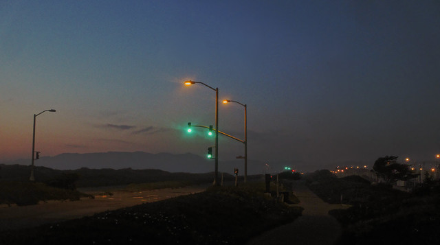 Great Highway at Dusk, San Francisco (2013)