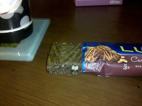 Caramel Nut Brownie Luna Bar
