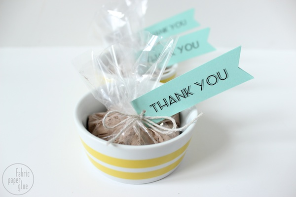 DIY Shower Favors 12