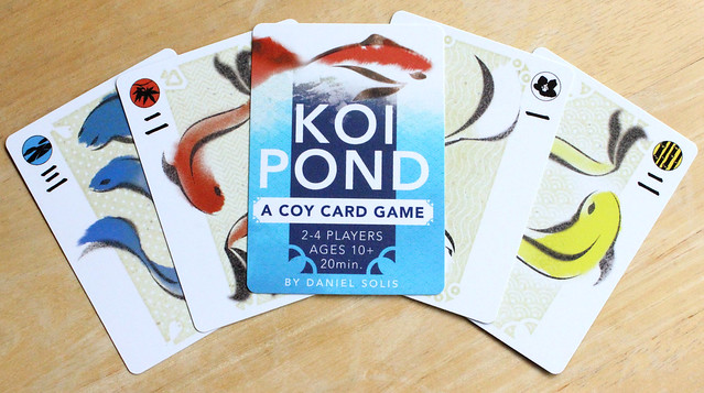 KOI POND on DriveThruCards