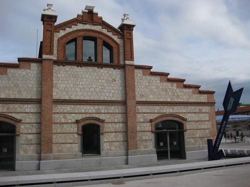 Parte posterior Casa del Lector. Matadero