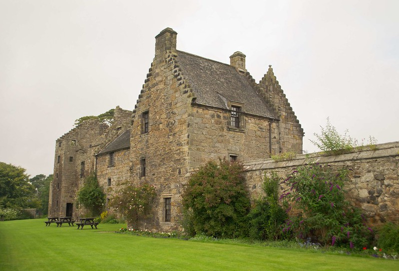 Aberdour Castle, Scotland